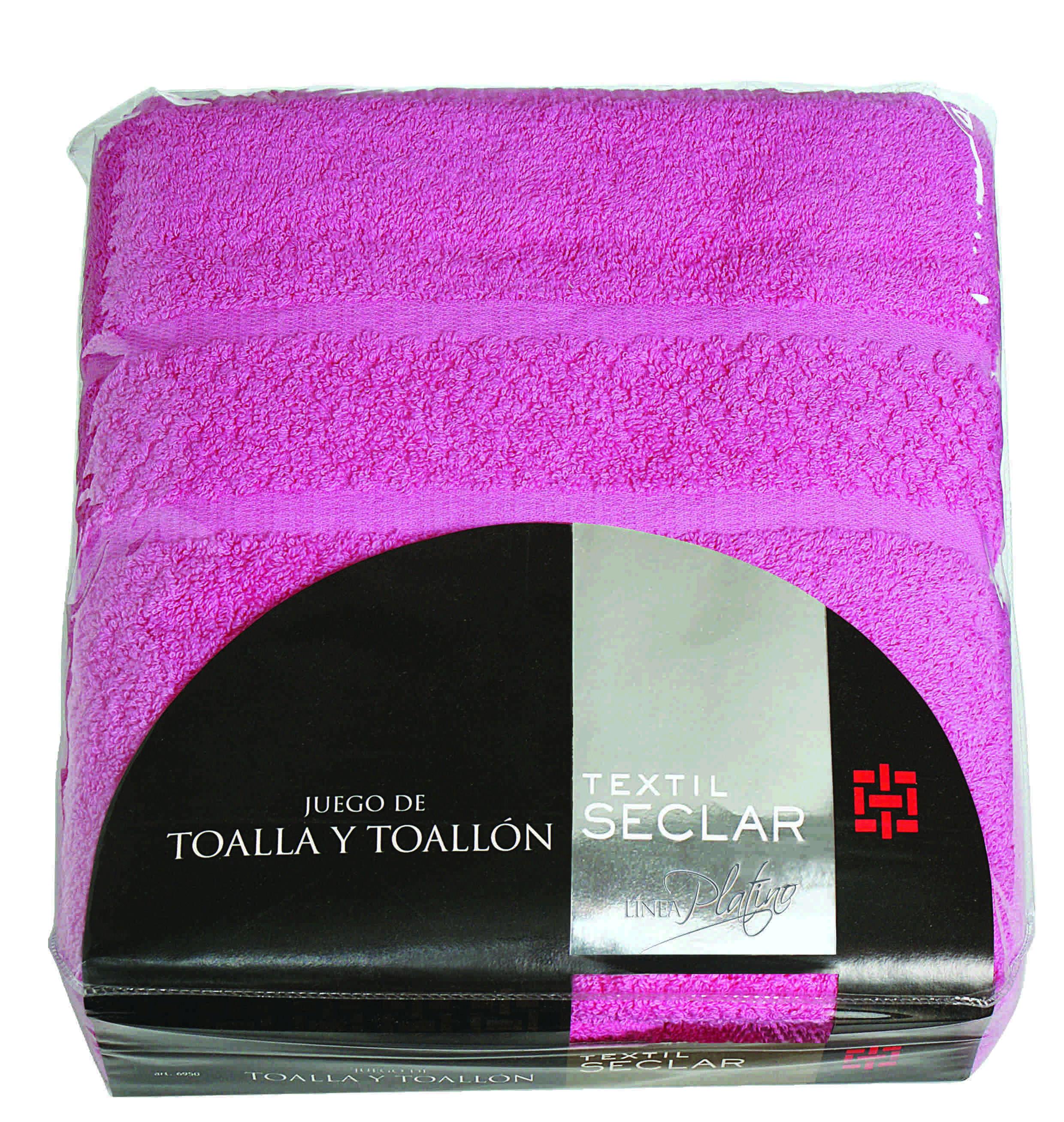 juego de toalla y toallon